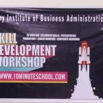 Workshop Arranged by AIBA Business Club and 10 Minutes School